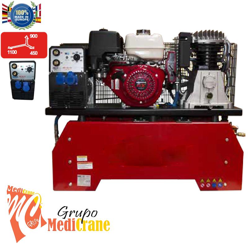 PROMOCIÓN Compresor generador motosoldadora gasolina COMPACT THUNDER